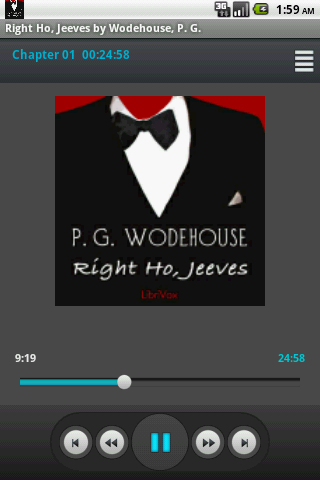 Audio Book: Right Ho Jeeves