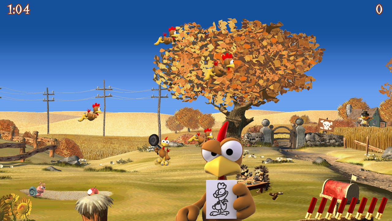 Moorhuhn Deluxe- Crazy Chicken - screenshot