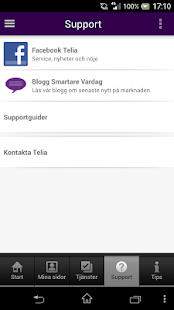 Mitt Telia - screenshot thumbnail