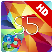 Galaxy S5 Theme HD Go Launcher