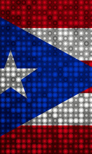 Puerto Rico Flag LED Light