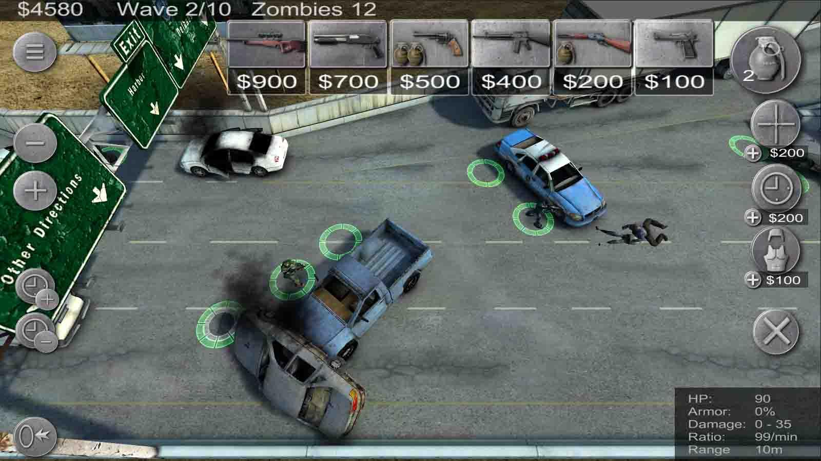 Zombie Defense - screenshot