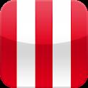 Rouge et Blanc Application logo