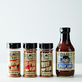 BBQ Sauce & Rubs (Pack of 4)