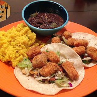 Crispy Mahi Tacos