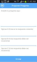 Screenshot of Examen Teórico de Manejo CR