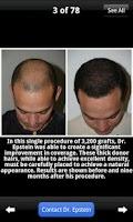 Screenshot of Plastic Surgery & Hair Restore