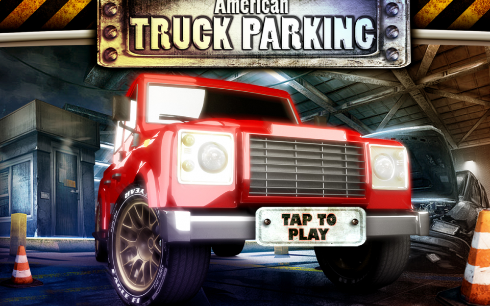 American truck 3D Driving - screenshot