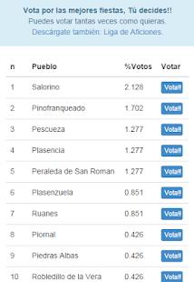 Mejores Fiestas Cáceres screenshot