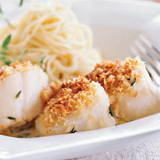 Baked Scallops With Ritz Crackers Recipes.