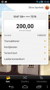 Ålems Sparbank - screenshot thumbnail