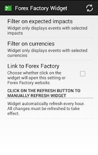 Forex calendar widget