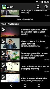 TV 2 Vejret - screenshot thumbnail