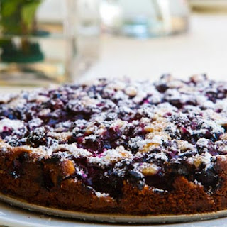 Blueberry Cake.