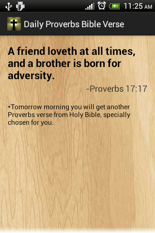 Proverbs daily bible versers