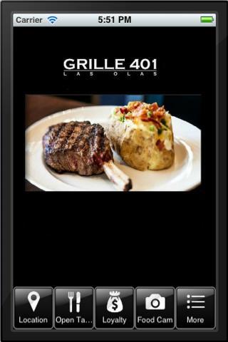 Grille 401 Las Olas