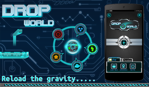 DropWorld : Rolling Ball Down