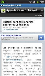 Aprende a usar tu movil- screenshot thumbnail