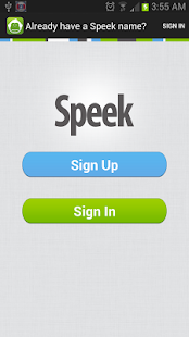 Speek - Free Conference Call - screenshot thumbnail