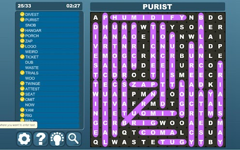 Word Search Tablet- screenshot thumbnail