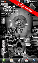 Steampunk Skull Free Wallpaper Screenshot 6