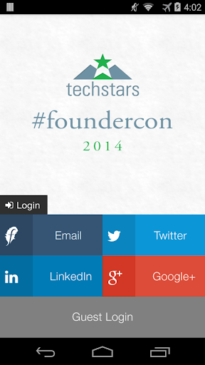Techstars FounderCon 2014