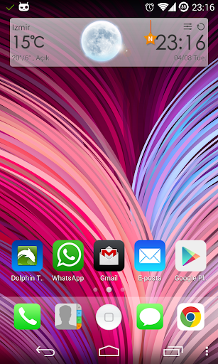 HTC One M8 Live Wallpaper