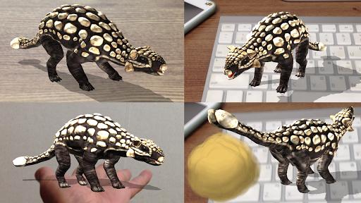 恐竜 3D - Ankylosaurus Free