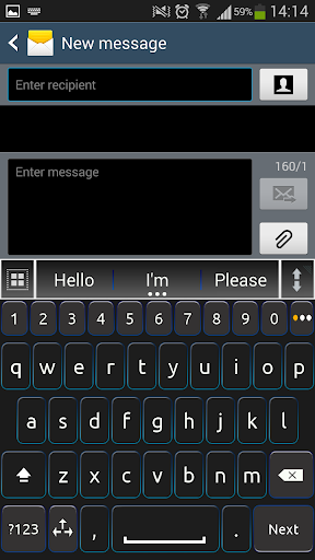 A.I. Type Keyboard for Phone א