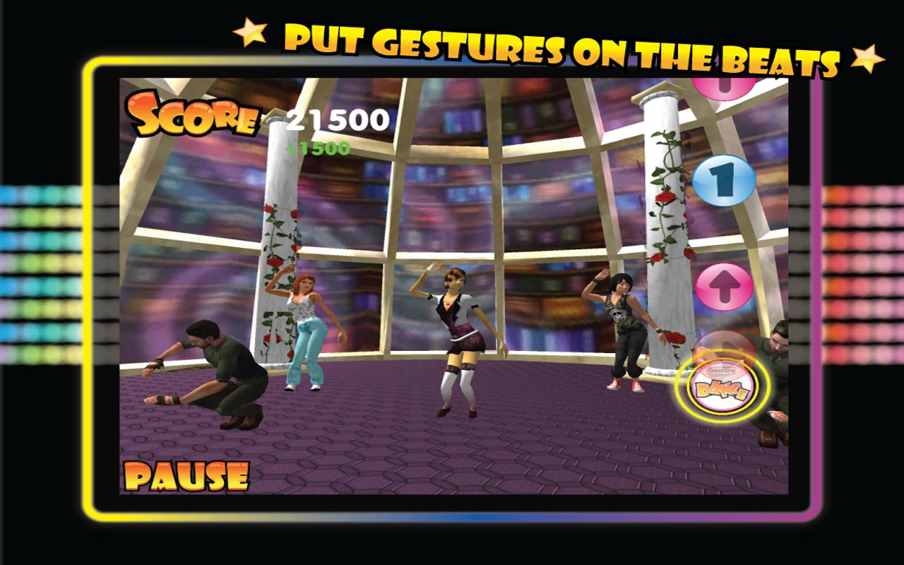Gesture Dance- screenshot