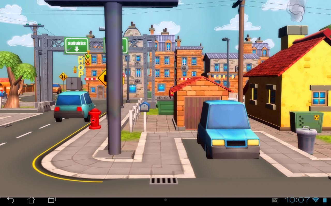 cartoon city 3d live wallpaper android apps on google play