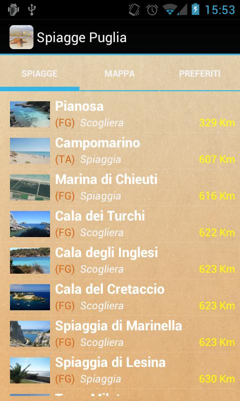 Spiagge Italia Puglia Free- screenshot