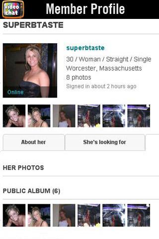 Video Chat Interactive Dating - screenshot