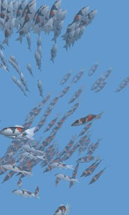 Fish swarm Live Wallpaper FREE - screenshot thumbnail