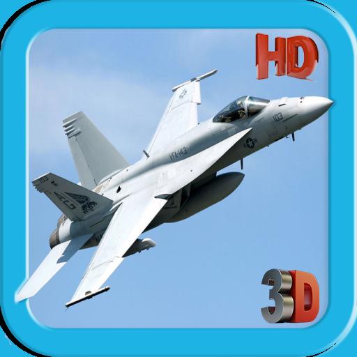 模擬App|F18 Air Jet Fighter LOGO-3C達人阿輝的APP
