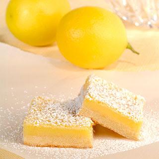 Weight Watchers Lemon Bars.
