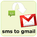 SMS to GMAIL logo