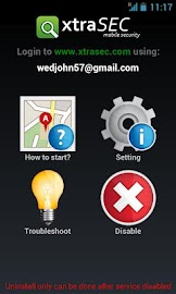 XtraSEC Phone Locator Screenshot 1