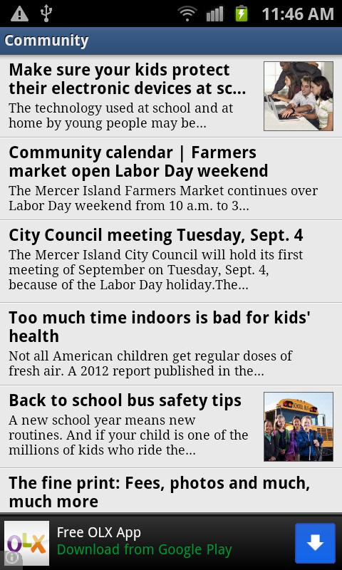 Mercer Island Reporter - screenshot