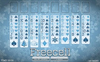 Screenshot of Winter Solitaire FREE