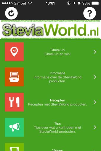 SteviaWorld App