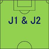 サッカー J1 & J2 データベース