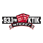 93.1 KTIK The Ticket icon