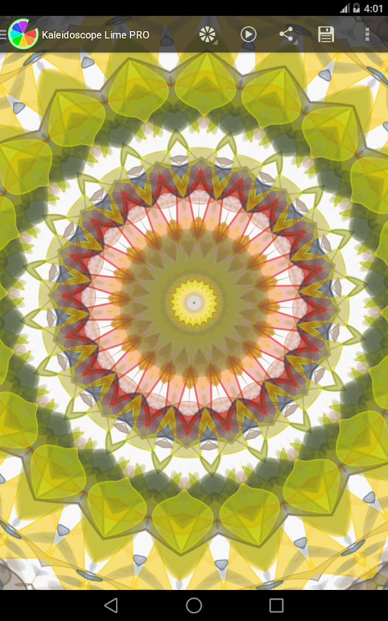 Kaleidoscope Lime PRO- screenshot