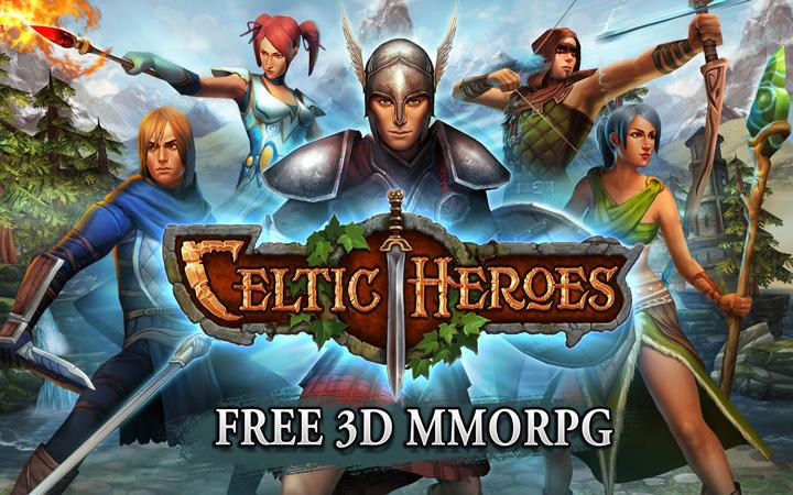 android 3D MMO Celtic Heroes Screenshot 11
