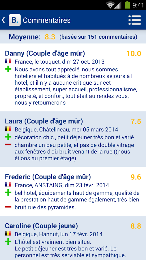 Booking.com - 445 000+  hôtels - screenshot