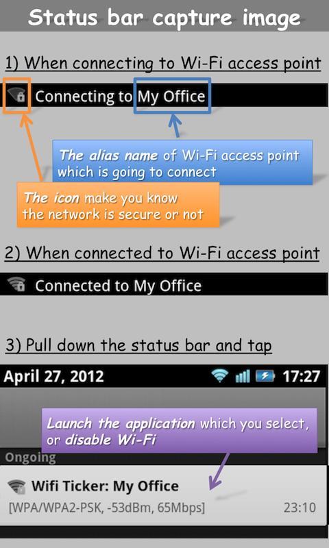 WiFi Ticker- screenshot