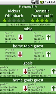 Football Statistics - screenshot thumbnail