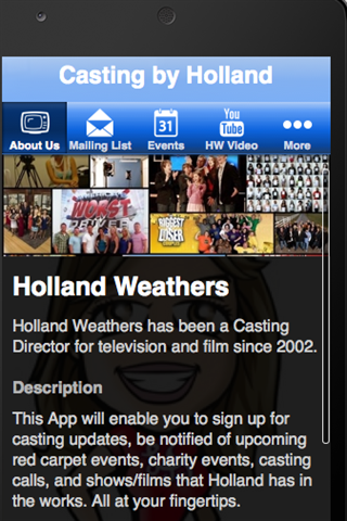 Holland Weathers Casting