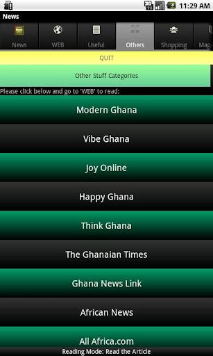【免費新聞App】Ghanaian News-APP點子